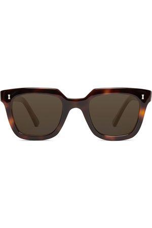 Cubitts Homem Óculos de Sol - Balfour Square-Frame Tortoiseshell Acetate Sunglasses