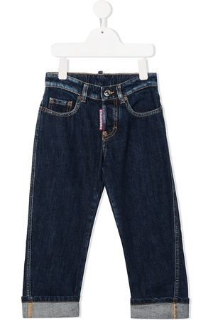 Dsquared2 Rolled-cuff jeans
