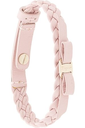 Salvatore Ferragamo Woven Vara bracelet