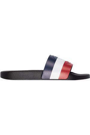 Moncler Basile stripe sandals