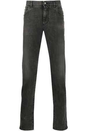 Dolce & Gabbana Lightly distressed slim jeans