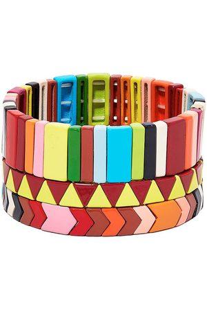 Roxanne Assoulin Picnic Blanket set of three bracelets
