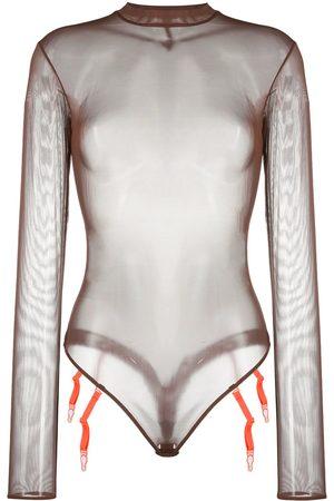 MAISON CLOSE Mesh bodysuit