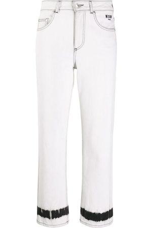 Msgm Tie-dye stripe jeans