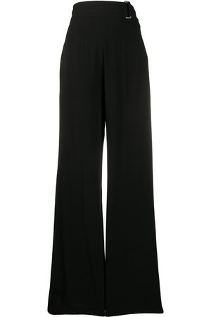 Victoria Beckham Cutout-back flared trousers