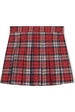 Gucci Square G check skirt