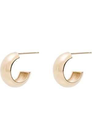 Zoe Chicco 14kt chunky huggie hoop earrings