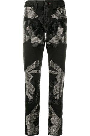 Philipp Plein Camouflage Super Straight Cut jeans