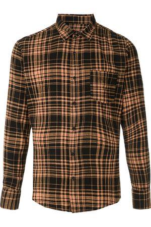 OSKLEN Pocket check shirt