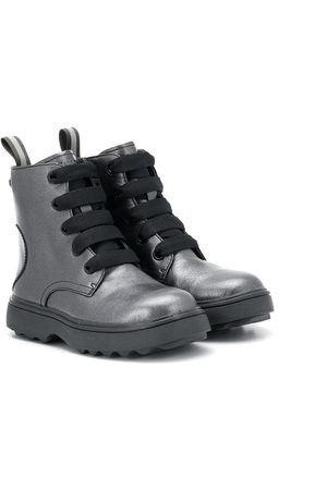 Camper Kids Lace-up leather boots