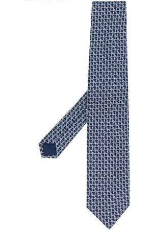 Salvatore Ferragamo Homem Laços de Colarinho - Pointed silk tie