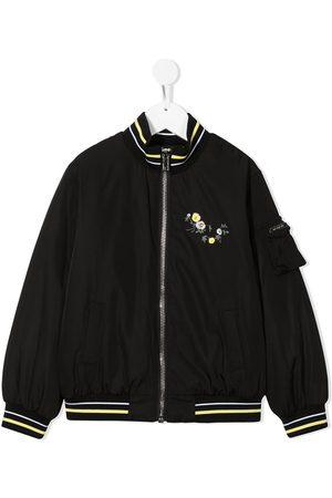 Givenchy Logo floral bomber jacket