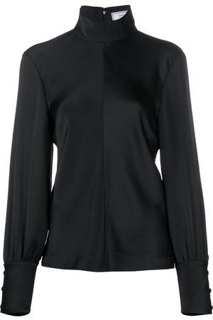 Ami Funnel neck blouse