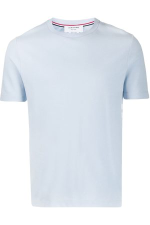 Thom Browne Homem T-shirts & Manga Curta - 4-Bar tab T-shirt