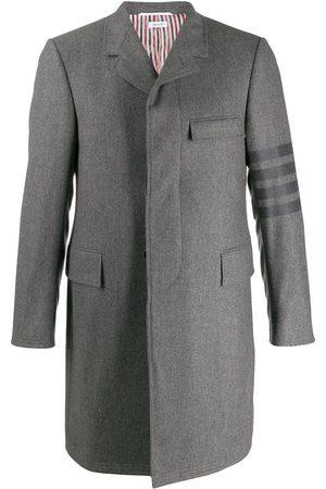 Thom Browne Classic Chesterfield Tonal 4-bar overcoat