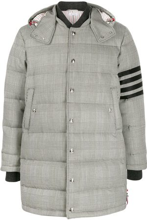 Thom Browne Prince of Wales padded coat