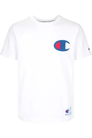 Champion Homem T-shirts & Manga Curta - Logo patch crew neck T-shirt