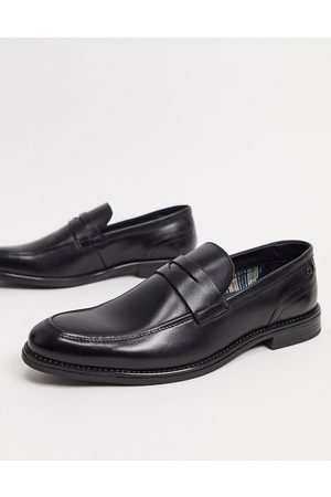 Base London Varone smart loafers in black leather
