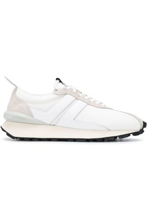 Lanvin Panelled low-top sneakers