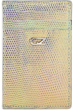 Giuseppe Zanotti Iridescent effect long cardholder