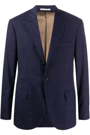Brunello Cucinelli Checked single-breasted blazer