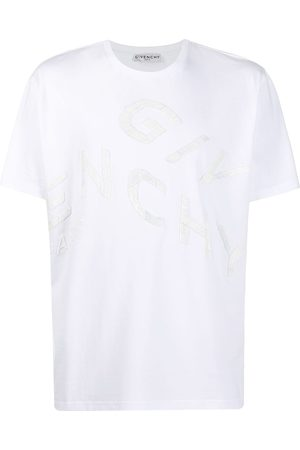 Givenchy Refracted oversized embroidered logo T-shirt