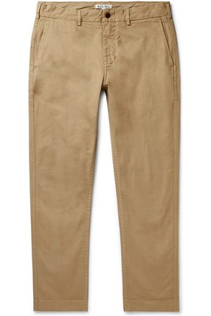 ALEX MILL Homem Calças Justas - Slim-Fit Cotton-Blend Twill Chinos