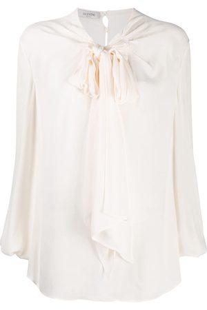 VALENTINO Tie-neck blouse