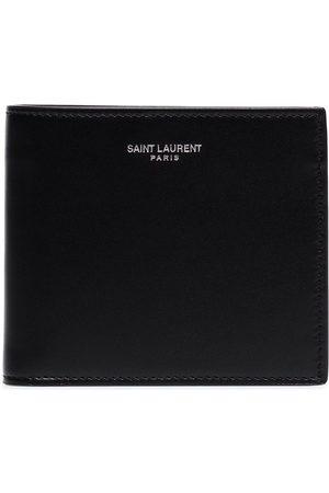 Saint Laurent Logo-embossed folding wallet