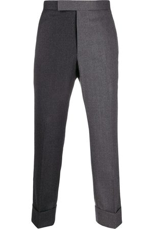 Thom Browne Super 120s Flannel Classic Trouser