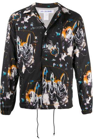Comme des Garçons Abstract print shirt jacket