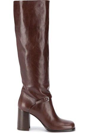 Miu Miu 95mm square-toe boots