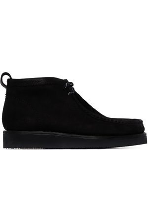 Clarks Suede wallabee hiking boots