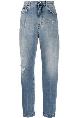 Dolce & Gabbana Distressed boyfriend jeans