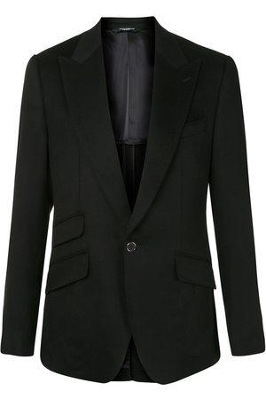 Dolce & Gabbana Single button cashmere blazer