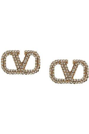 VALENTINO GARAVANI VLOGO crystal earrings