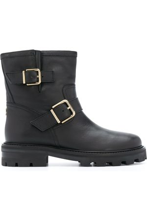 Jimmy Choo Youth buckle ankle boots