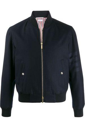 Thom Browne 4-Bar zipped bomber jacket