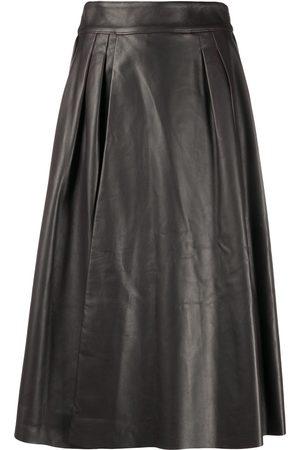 Dolce & Gabbana Pleat-detail A-line skirt