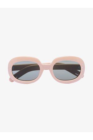 Gucci Homem Óculos de Sol - Oval frame tinted sunglasses