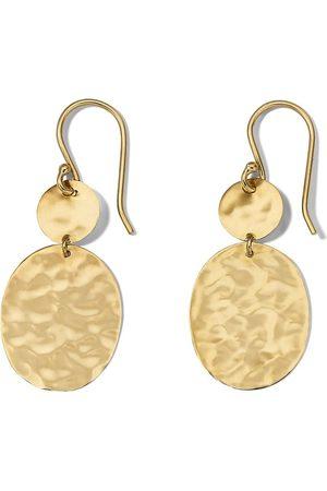 Ippolita 18kt yellow Crinkle Snowman earrings