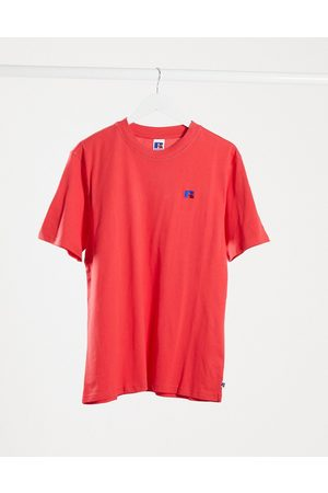 Russell Athletic Baseliner t-shirt with chest logo in red