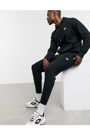 New Balance Small logo joggers in black