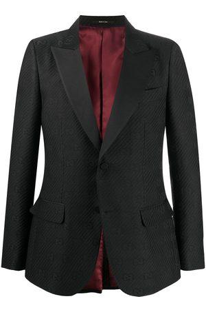 Gucci Logo monogram blazer