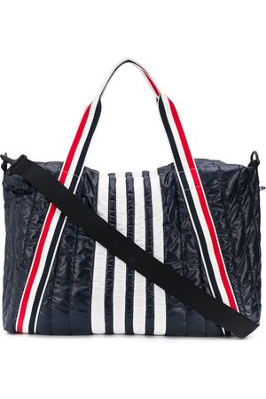 Thom Browne 4-bar stripe detail holdall