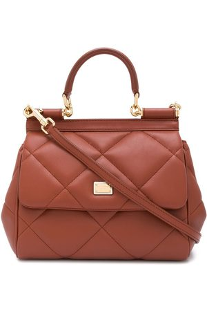 Dolce & Gabbana Quilted leather tote bag