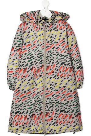 Wolf & Rita Hooded zip-up coat