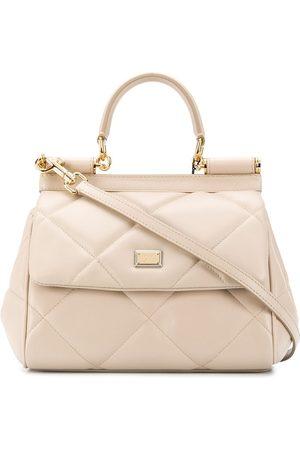 Dolce & Gabbana Diamond-quilt tote bag