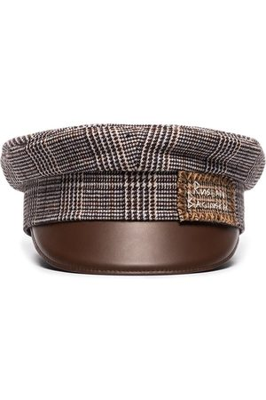 Ruslan Baginskiy Baker Boy tweed hat