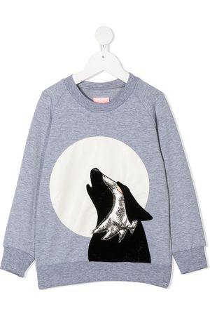 Wauw Capow by Bangbang Hunter graphic print sweatshirt